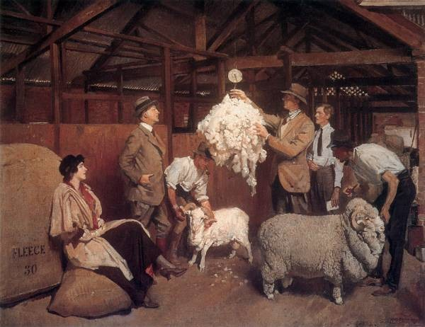Lambert Weighing the Fleece